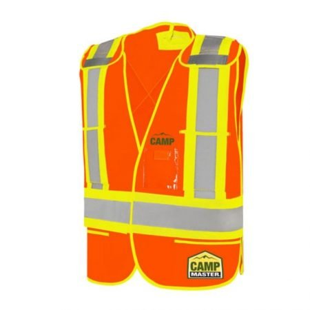 Custom Adjustable Traffic Vests