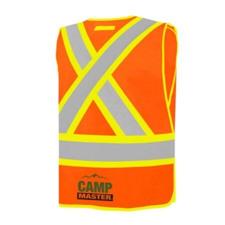 Custom Adjustable Traffic Vests