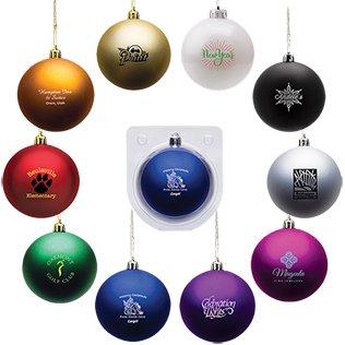 Shatter-Resistant Custom Christmas Ball Ornament