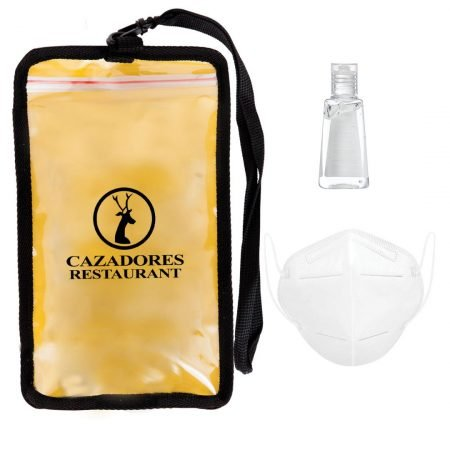 3 Piece Custom Sanitizer Safety Kits