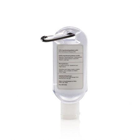 Custom Hand Cleanser w/ Carabiner - 1.8 oz.