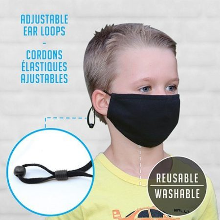 Cotton Reusable Custom Youth Face Mask