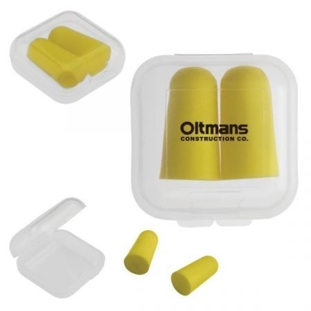 Promotional Ear Plugs w/ Custom Case