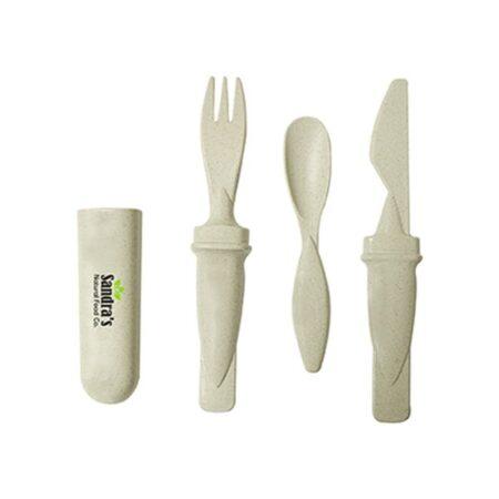 Custom Wheat Fibre Utensil Set