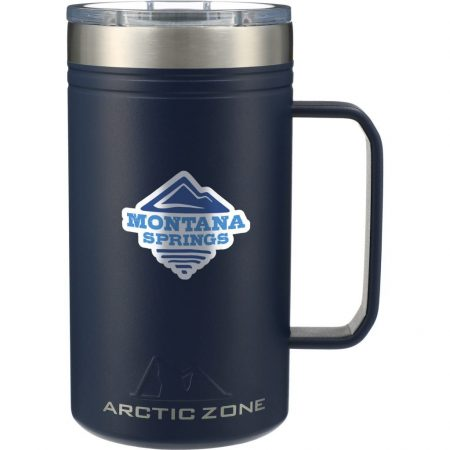 Custom Arctic Zone Titan Thermal Copper Mug - 24 oz