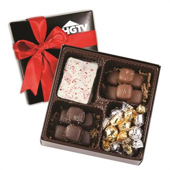 Chocolate Assortment Custom Holiday Gift Box