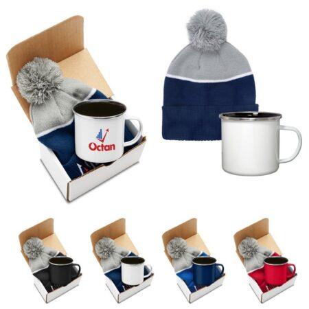 Campfire Mug Custom Gift Set