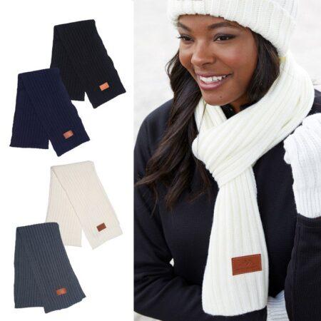 Leeman Rib Knit Custom Scarf