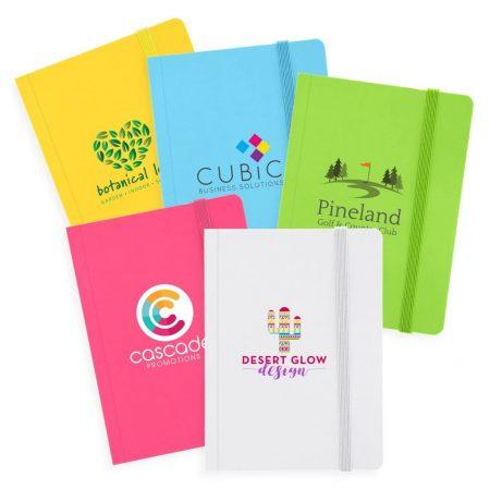 "Vivid Colored Custom Journal Book - 4 x 6"""