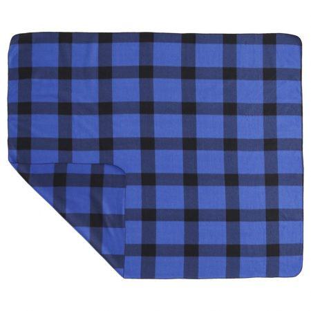 Custom Buffalo Plaid Fleece Blanket
