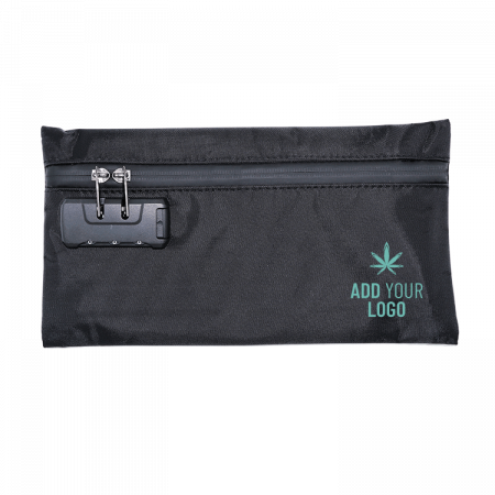 Custom Smell Proof Stash Bag w/ Combination Lock