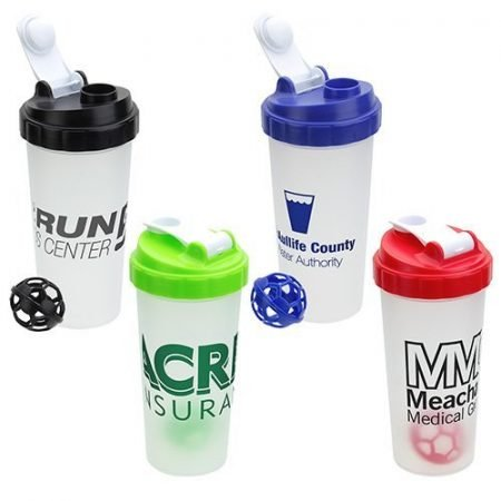 Custom Flip Top Shaker Bottle - 20 oz.