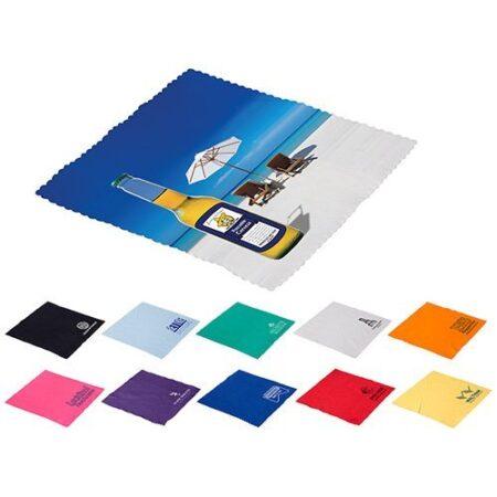 Full Color Custom Microfiber Cloth