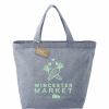 Custom Recycled Cotton Twill Grocery Tote