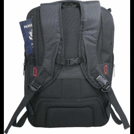 """Custom elleven Stealth TSA 17"""" Computer Backpack"""