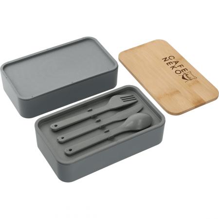 Custom Stackable Bamboo Fiber Bento Box