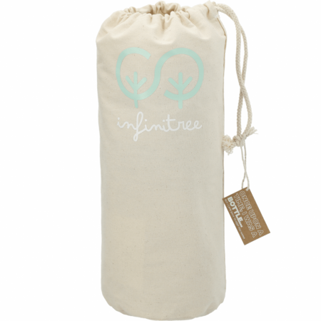 Custom 100% Recycled PET Fleece Blanket w/ Canvas Pouch