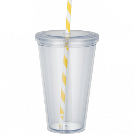 Custom Sedici Striped Straw