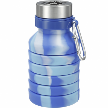 Zigoo Custom Tie Dye Silicone Collapsible Bottle - 18oz