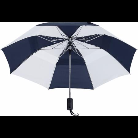 "Custom 42"" Vented Auto Open Windproof Slim Stick Umbrella"