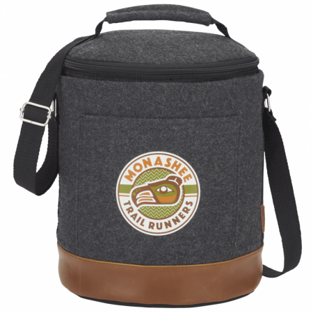 Custom Field and Co. Campster 12 Can Round Cooler
