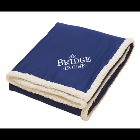 """Custom Sherpa Blanket - 50 x 60"""""""