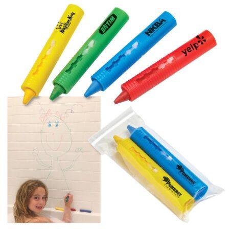 Custom Bathroom Crayon Sets - 2 Pack