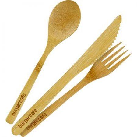 Custom Bamboo Utensil Set